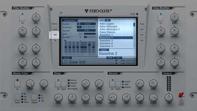 refx nexus 2 presets